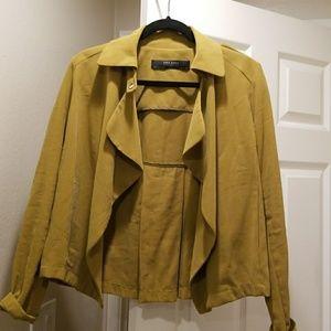 Zara Mustard Yellow Jacket